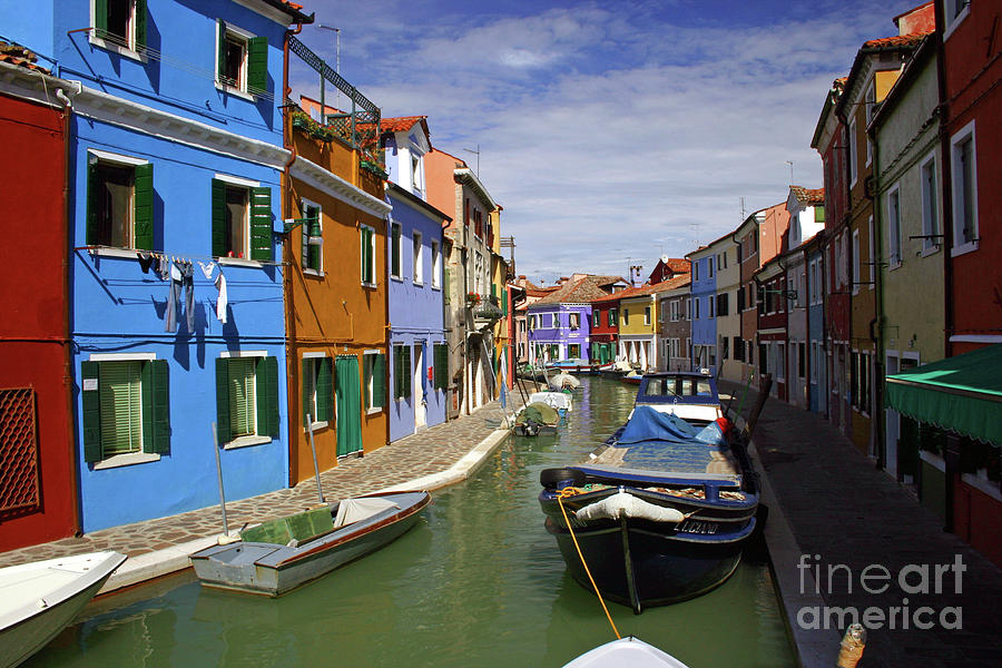 It0008 Burano Italy Photograph  - It0008 Burano Italy Fine Art Print
