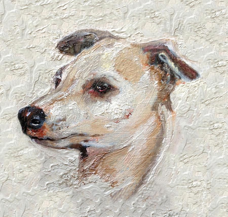 Italian Greyhound Painting