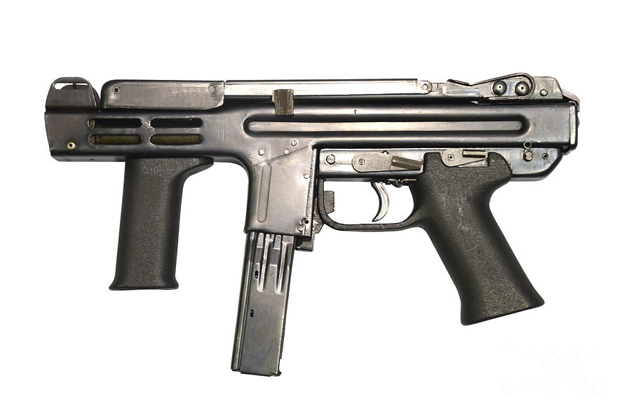 Italian Spectre M4 Submachine Gun Photograph