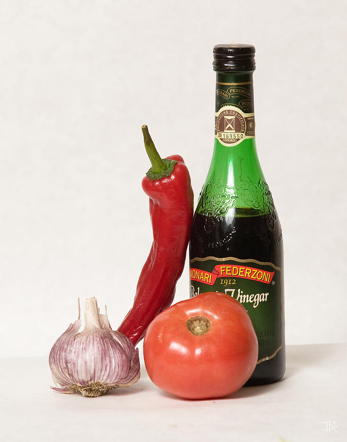 Italian Still Life Photograph by Jim  Arnold