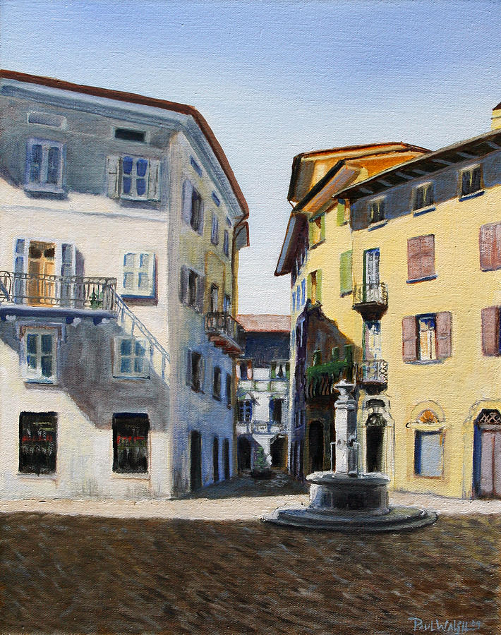 Italian Street Painting  - Italian Street Fine Art Print
