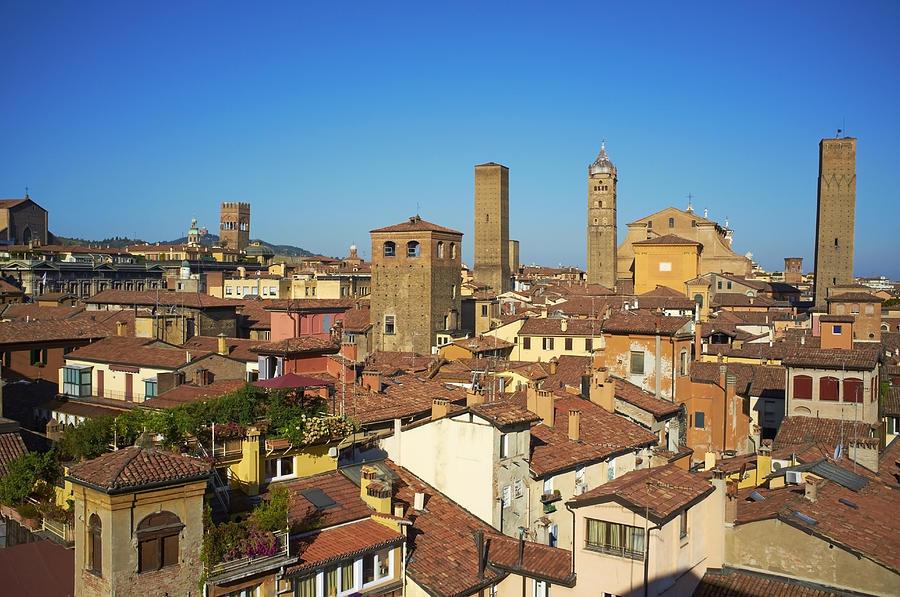 Italy, Emilia-romagna, Bologna, Cityscape Photograph