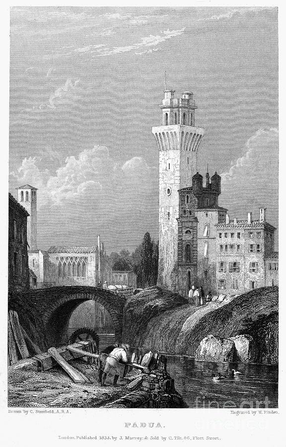 Italy: Padua, 1833 Photograph