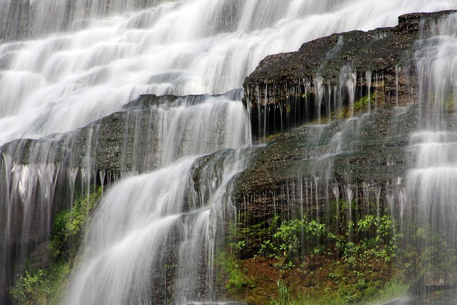 Ithaca Falls Closeup Photograph