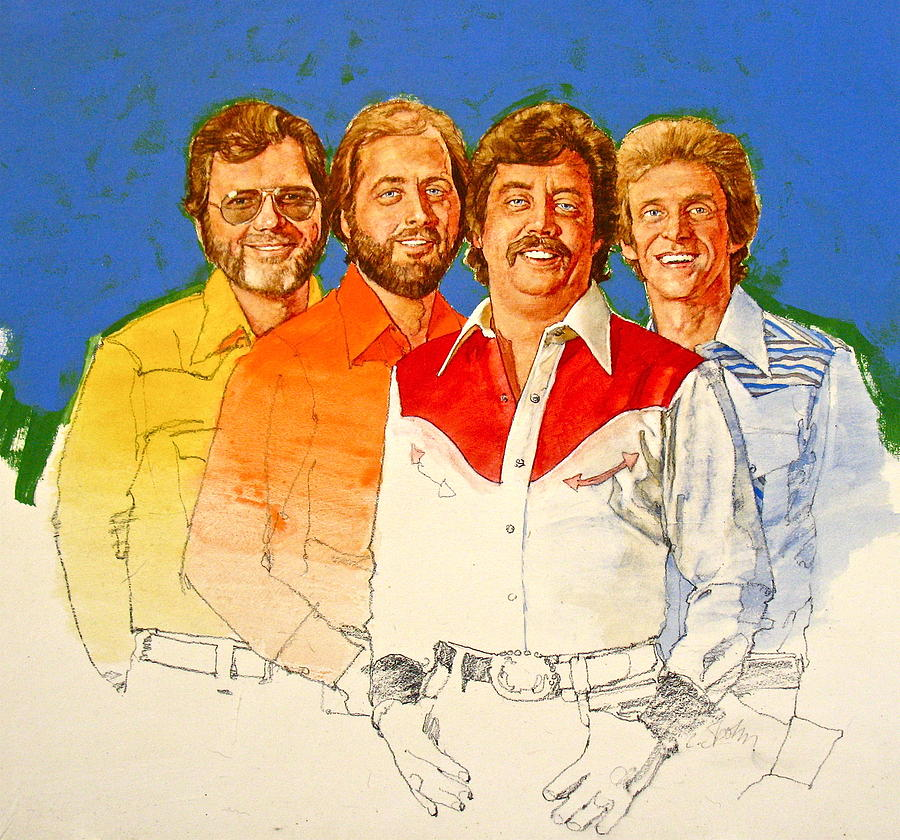 Its Country 2 - Statler Brothers Painting  - Its Country 2 - Statler Brothers Fine Art Print