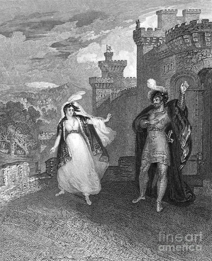 1832 Photograph - Ivanhoe, 1832 by Granger