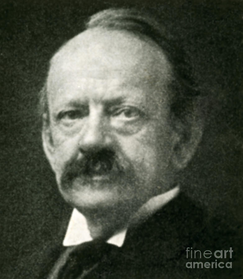 J. J. Thomson, English Physicist Photograph