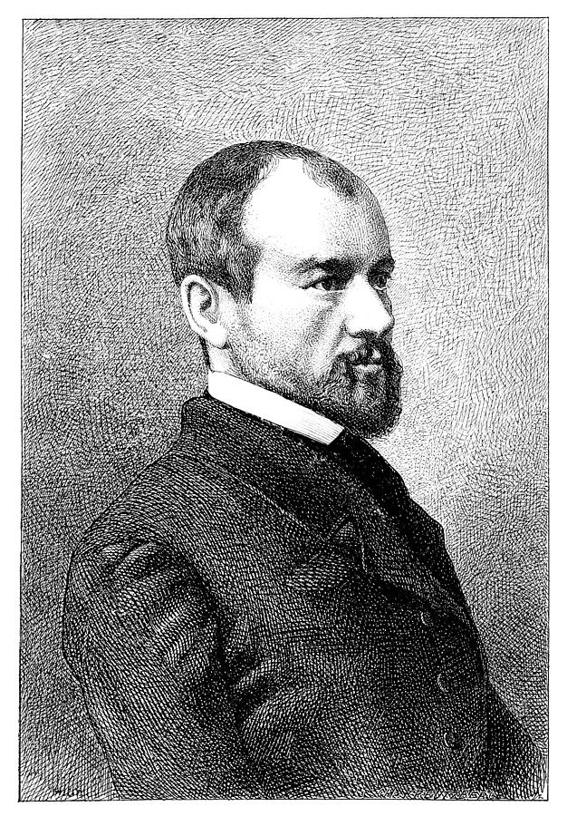 J-p. Durand, French Philosopher Photograph