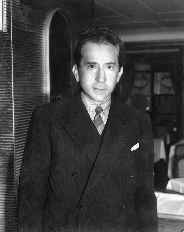 J. Paul Getty, Ca. 1957 Photograph