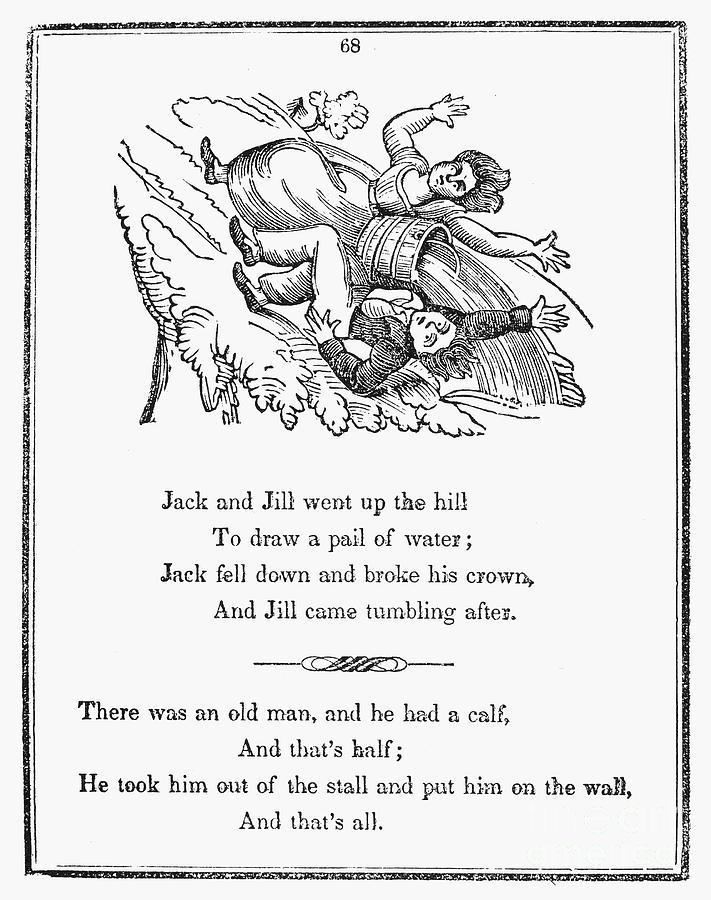 Jack And Jill, 1833 Photograph