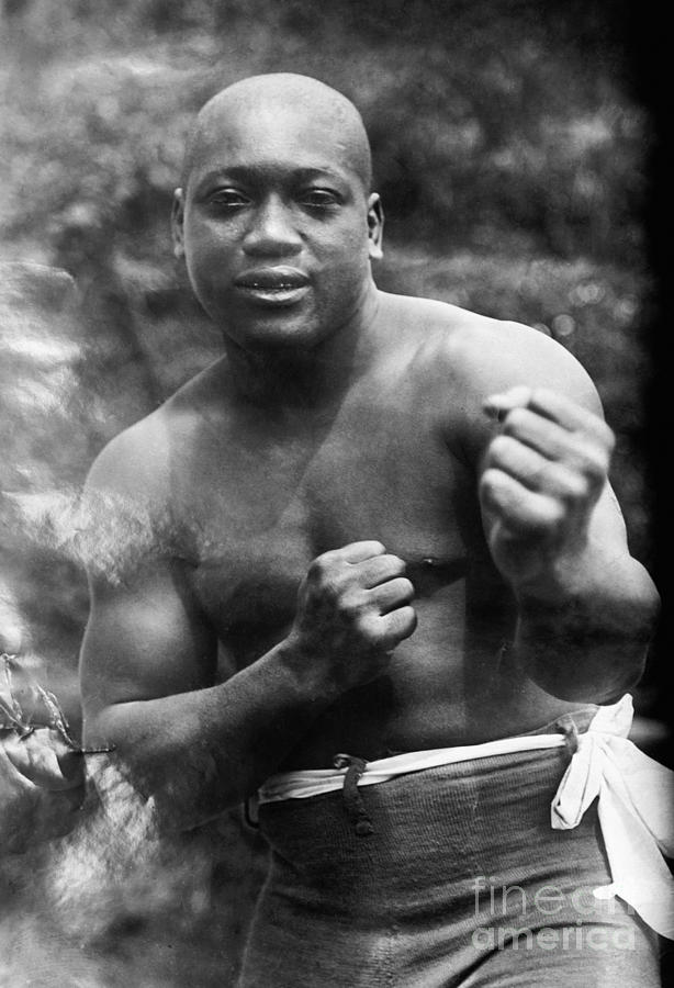 Jack Johnson (1878-1946) Photograph  - Jack Johnson (1878-1946) Fine Art Print
