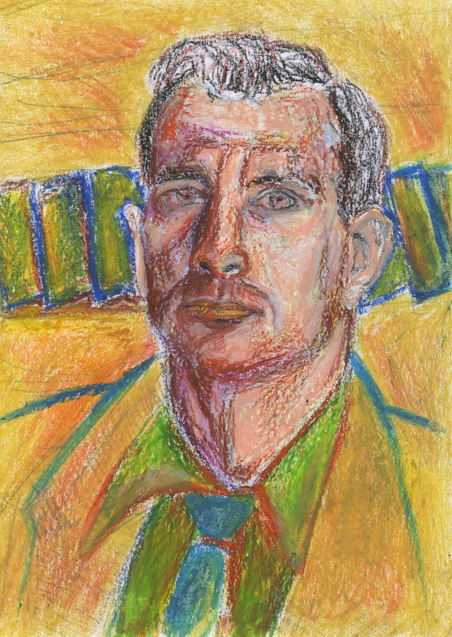 Jack Kerouac Painting