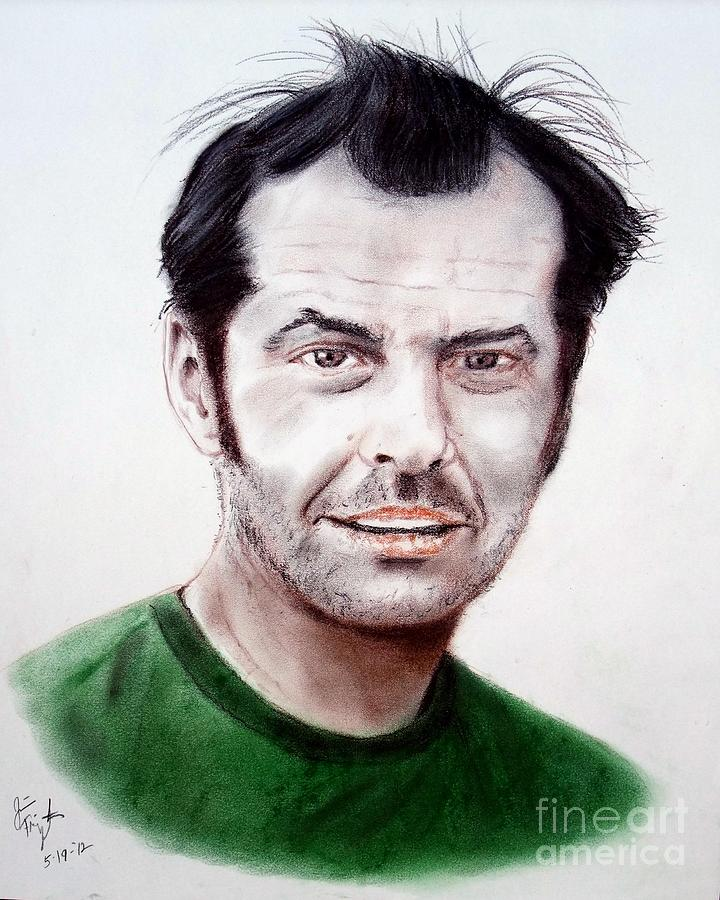 Jack Nicholson In One Flew Over The Cuckoos Nest Drawing
