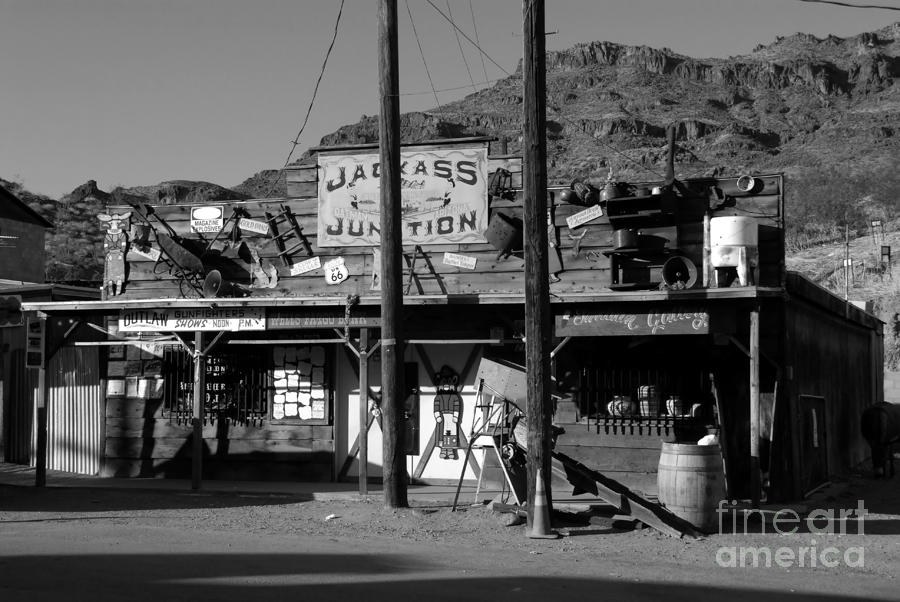 Jackass Junction Photograph  - Jackass Junction Fine Art Print