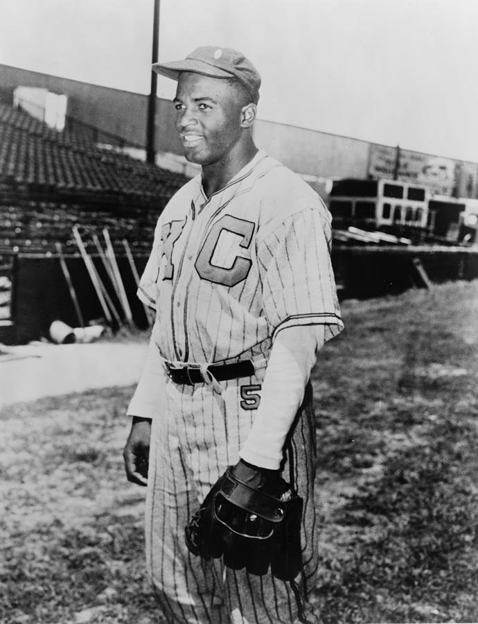 Jackie Robinson 1919-1972 In Kansas Photograph  - Jackie Robinson 1919-1972 In Kansas Fine Art Print