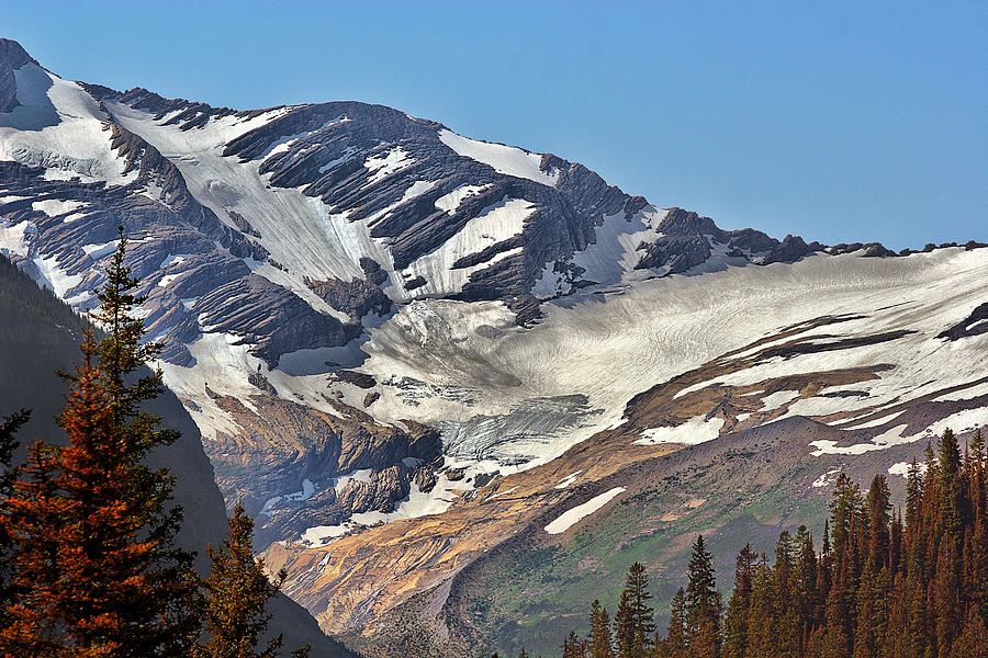 Jackson Glacier - Glacier National Park Mt Photograph