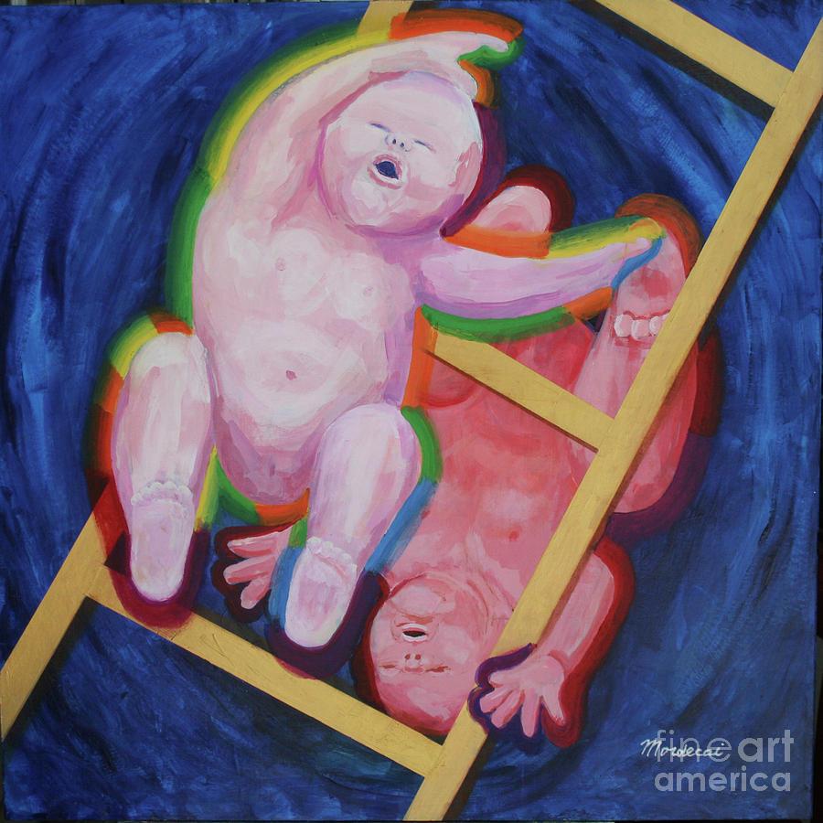 Jacob And Essau-yin Yang Painting