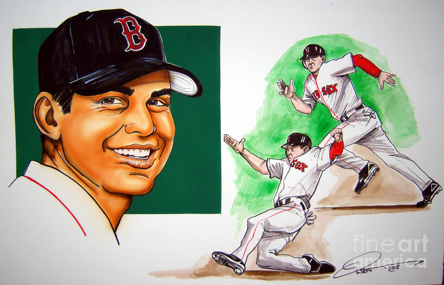 Jacoby Ellsbury Painting