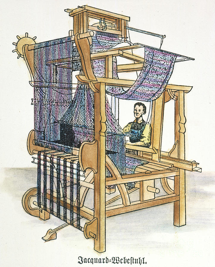 Jacquard Loom is a photograph by Granger which was uploaded on June ...