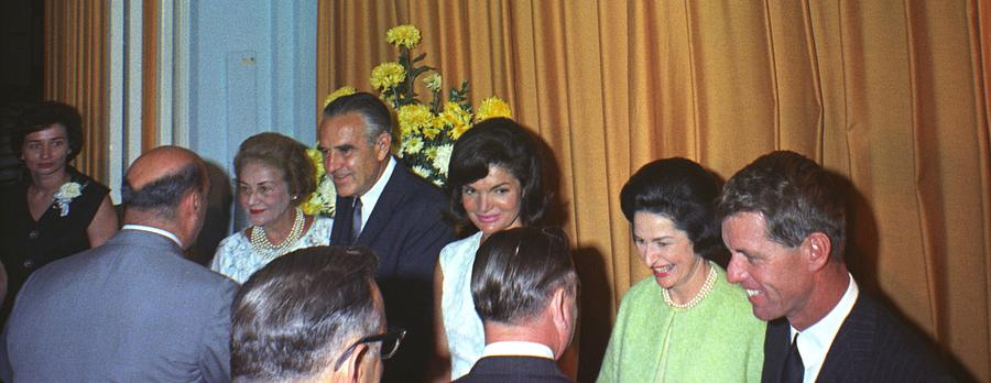 Jacqueline And Robert Kennedy Host Photograph