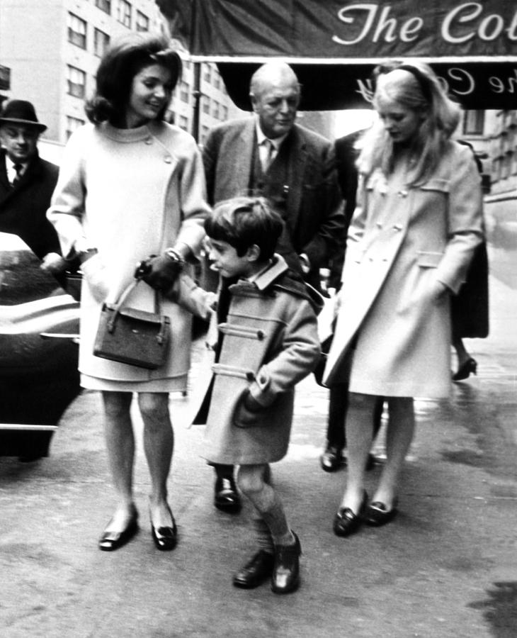 Jacqueline Kennedy, Randolph Churchill Photograph