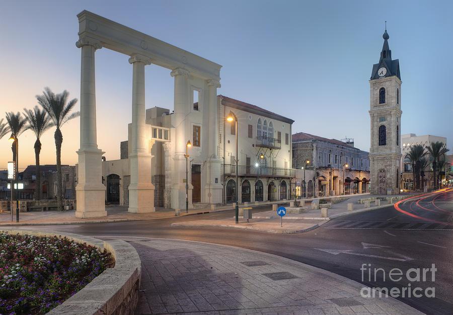 Jaffa Clock Tower Photograph