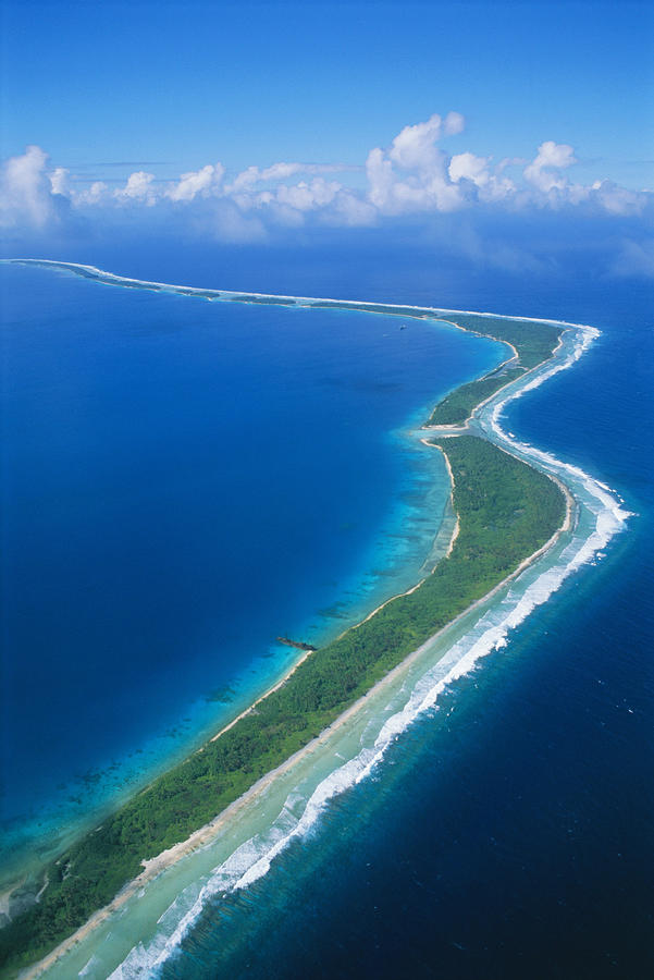 Jaluit Atoll And Lagoon Photograph