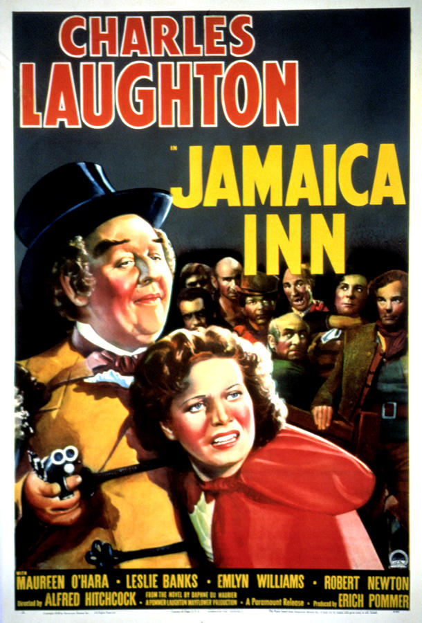 Jamaica Inn, Charles Laughton, Maureen Photograph