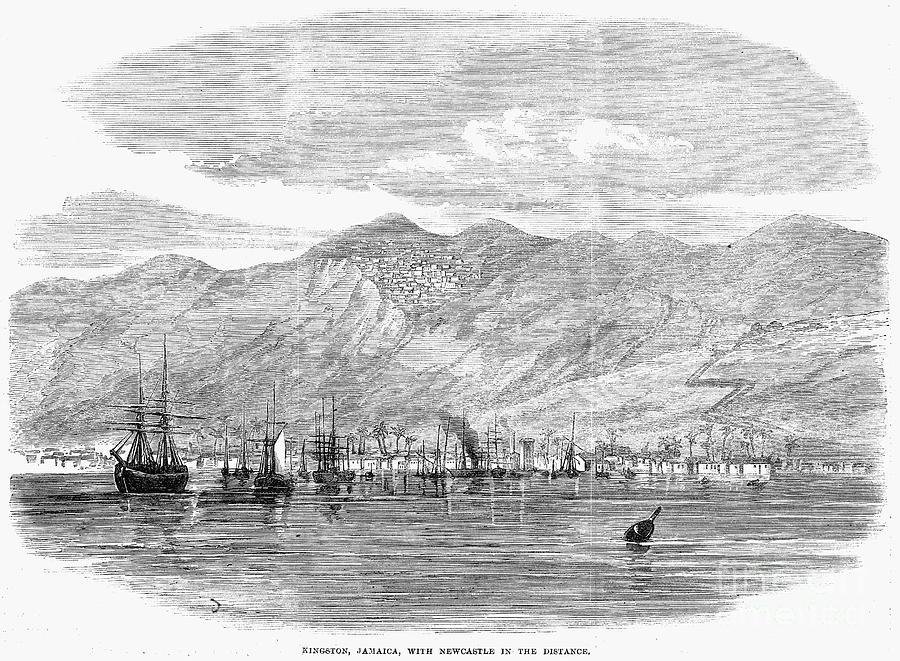 Jamaica: Kingston, 1865 Photograph