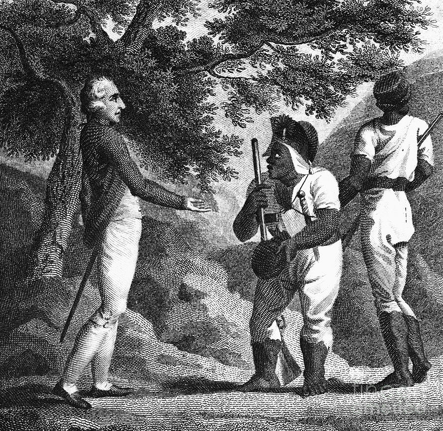 Jamaica Maroons C1739 Photograph By Granger