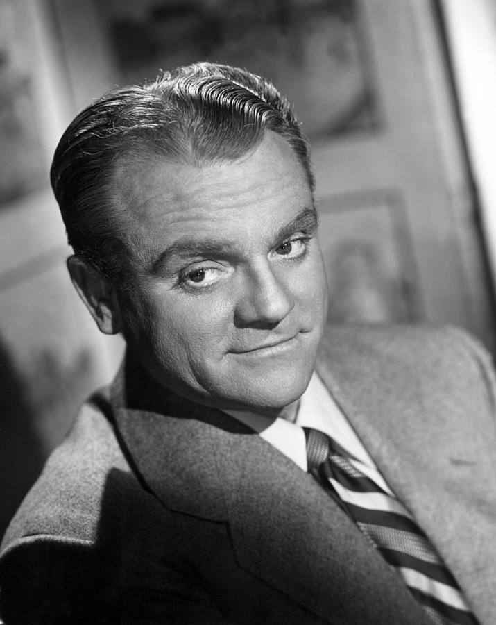 James Cagney, Portrait, 1940s Photograph