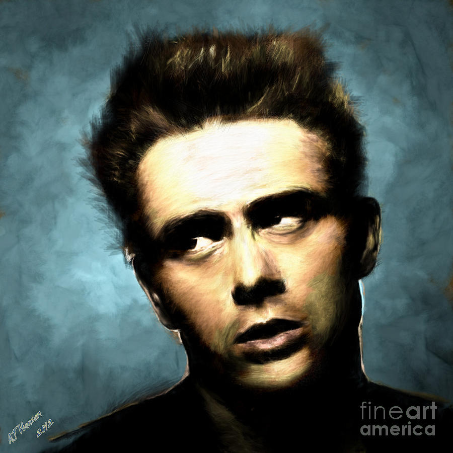James Dean Photograph  - James Dean Fine Art Print