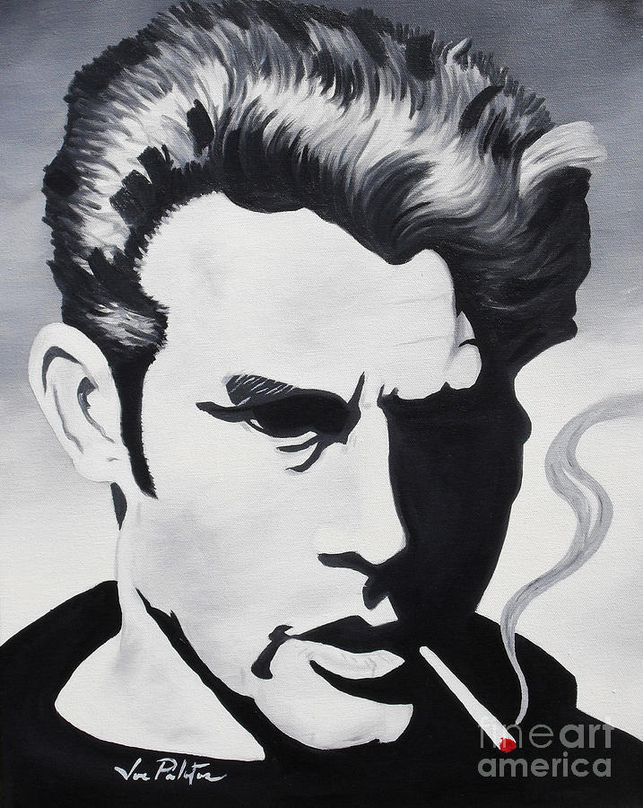 James Dean  Painting  - James Dean  Fine Art Print