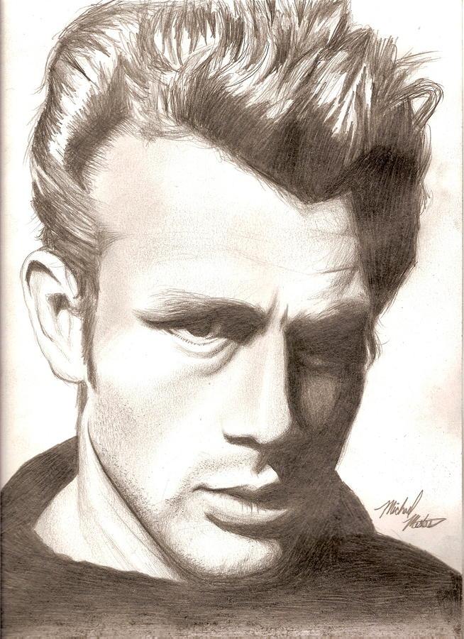 James Dean Drawing