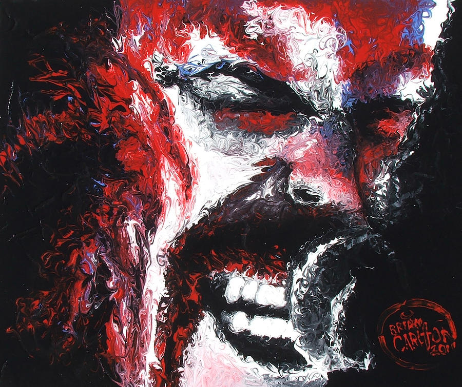 James Hetfield Painting