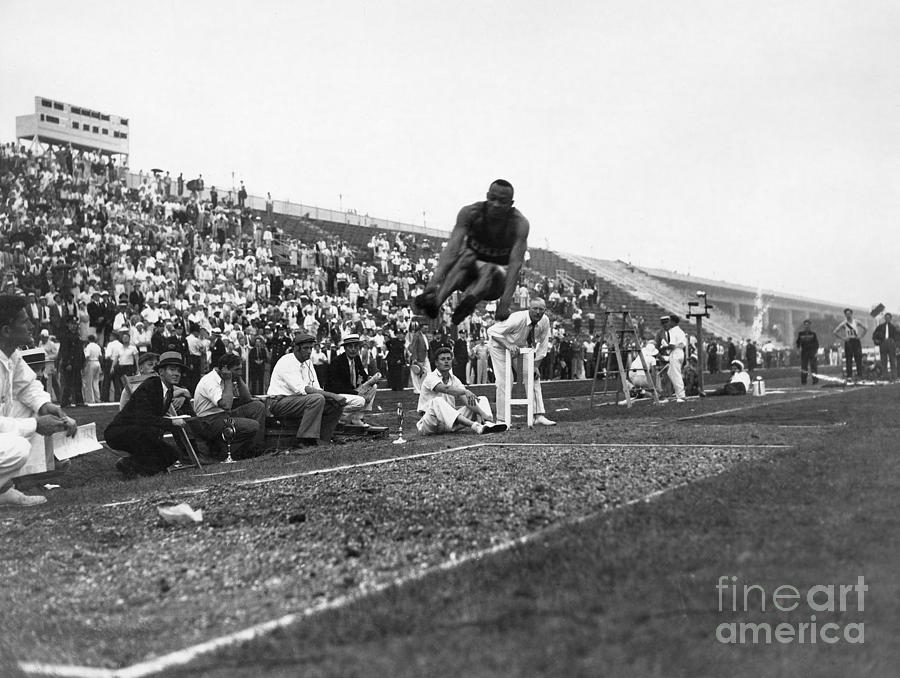 James Jesse Owens Photograph  - James Jesse Owens Fine Art Print