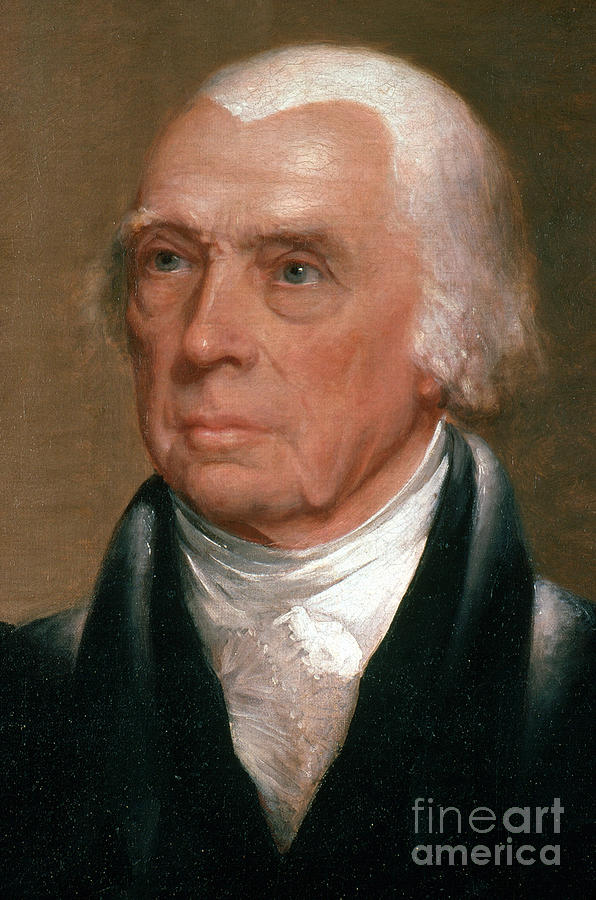 James Madison, 4th American President Photograph