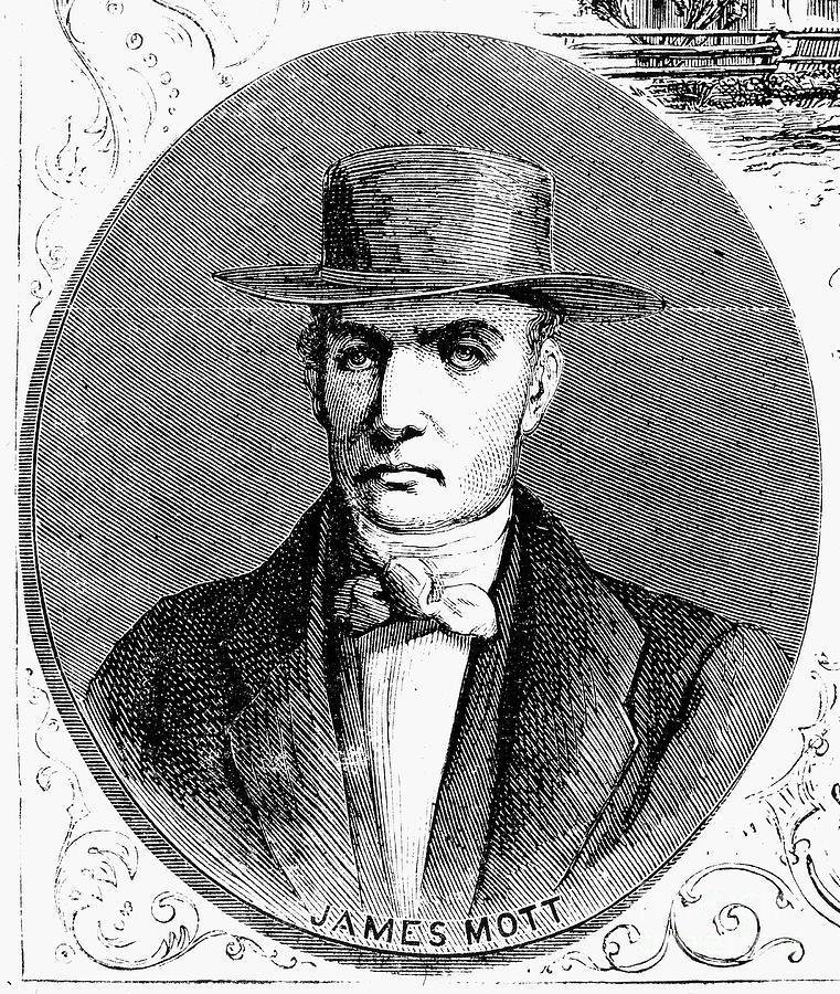 James Mott (1788-1868) Photograph