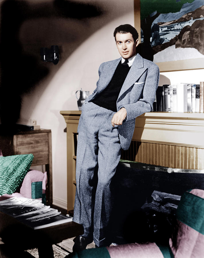 James Stewart, Ca. 1940s Photograph  - James Stewart, Ca. 1940s Fine Art Print