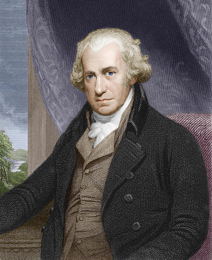 James Watt, Scottish Engineer Photograph by Sheila Terry