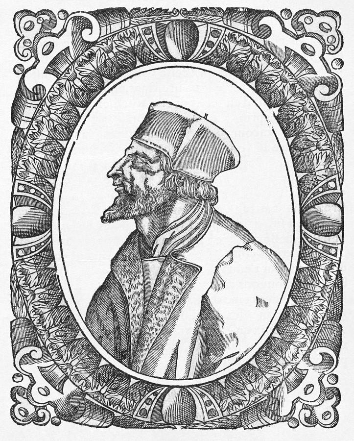 Jan Hus, Czech Religious Reformer Photograph