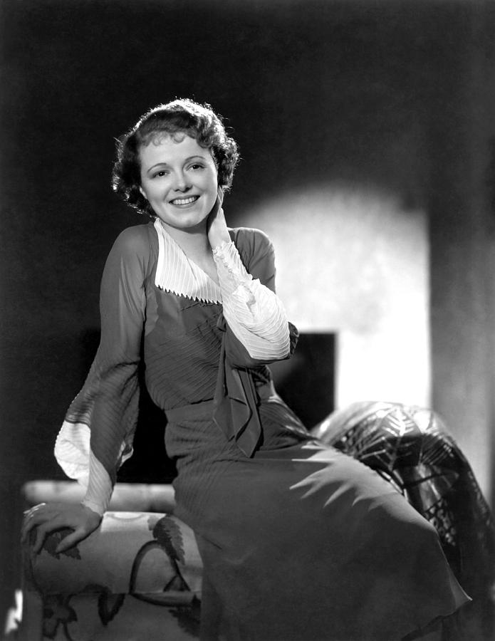 Janet Gaynor, Ca. 1933 Photograph