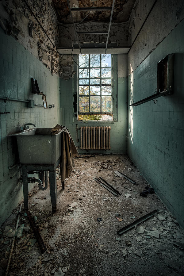 Hdr Photograph - Janitors Closet by Gary Heller