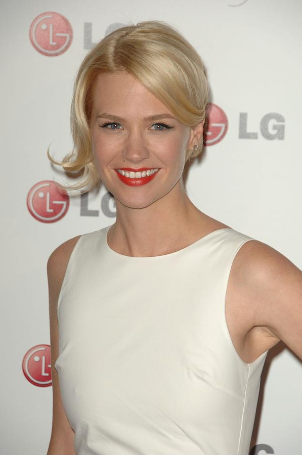 January Jones At Arrivals For A Night Photograph  - January Jones At Arrivals For A Night Fine Art Print