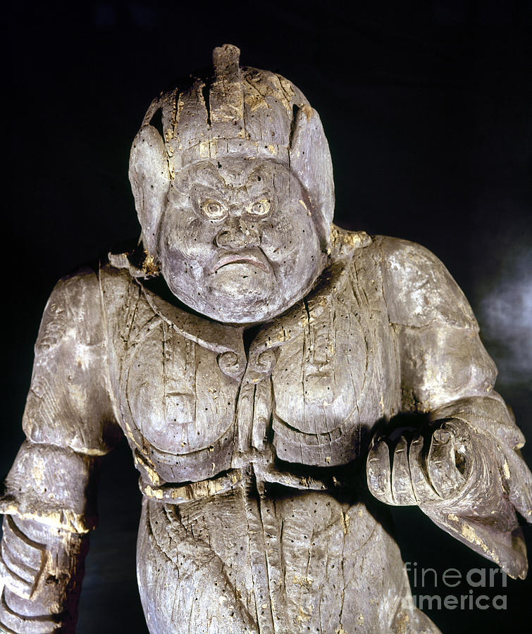 Japan: Buddhist Statue Photograph  - Japan: Buddhist Statue Fine Art Print