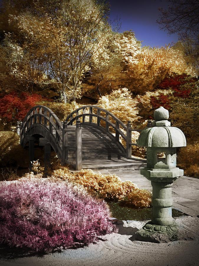 Japanese Foot Bridge Photograph