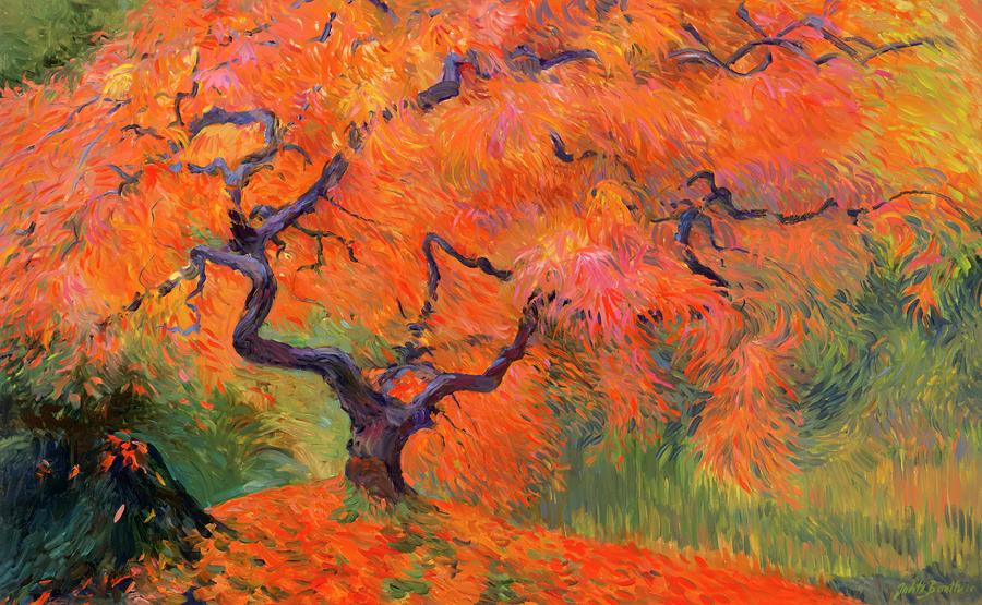 Japanese Maple Tree Painting