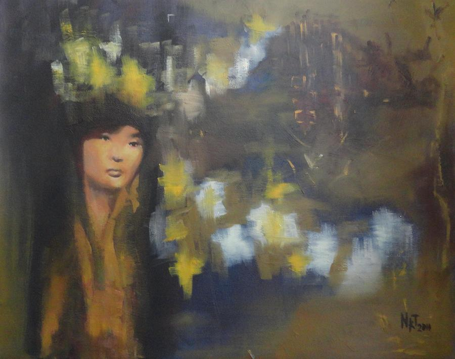 Japanese Moment Painting  - Japanese Moment Fine Art Print