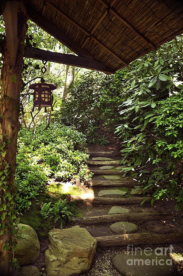 Japanese stroll garden 5 photograph by digital designs by dee for Japanese garden path design