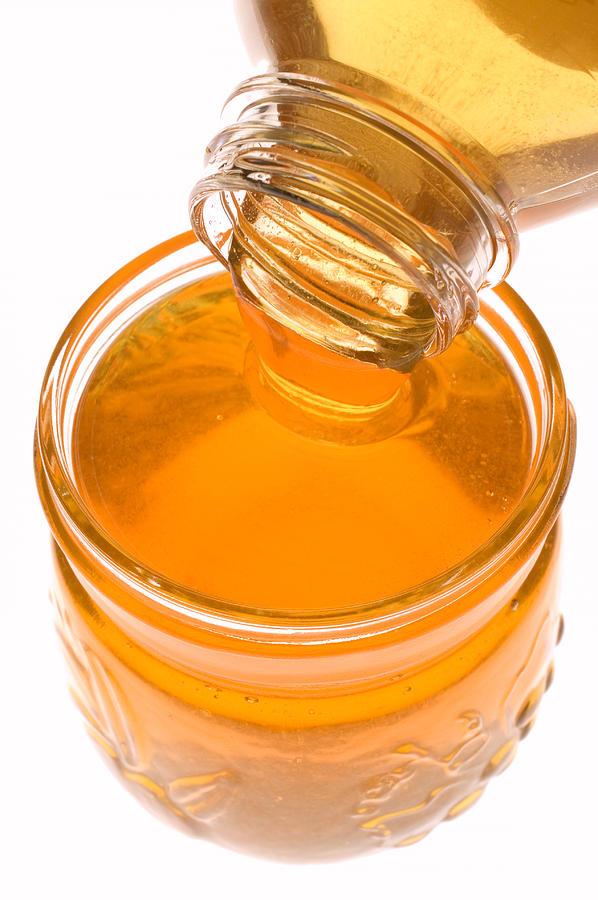 Jar Of Honey Photograph